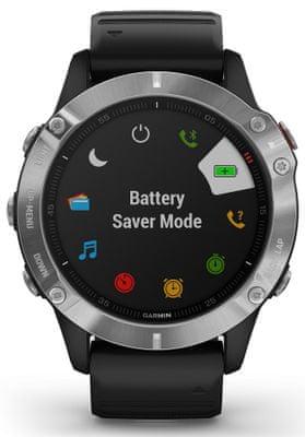 Inteligentné hodinky Garmin fénix 6, dlhá výdrž batérie, vodoodolné, odolné, tvrdené sklo, gorilla glass, vojenský štandard