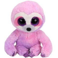 TY Beanie Boos Dreamy - fialový leňochod 24 cm