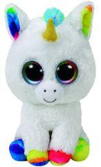 TY Beanie Boos Pixy - bílý jednorožec 24 cm