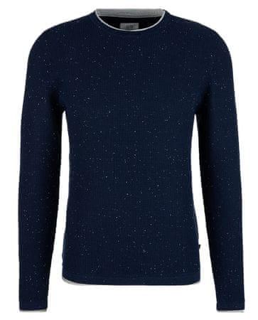 Q/S designed by sweter męski 40.909.61.2646, S niebieski
