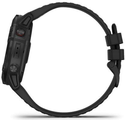 Chytré hodinky Garmin fénix 6X PRO, hudební přehrávač, bezkontaktní platby, notifikace z telefonu, z aplikací