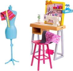 Mattel Barbie na svojem odličnem delovnem mestu v trgovini – Šivilja