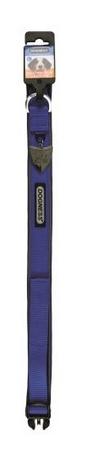 IMAC Állítható nylon kutya nyakörv kék, méret. M