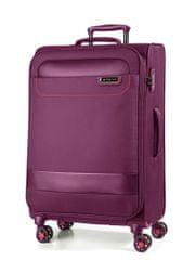 March Látkový cestovní kufr Tourer 104 l