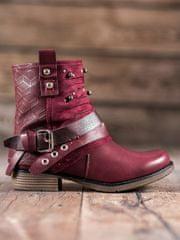 Dámske členkové topánky 58008
