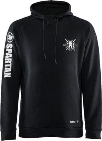 Craft Spartan moški pulover, črn, S