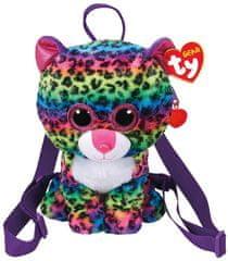 TY Gear backpack Dot - barevný leopard 25 cm
