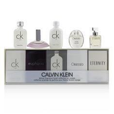 Calvin Klein Kolekce miniatur - EDT 2 x 10 ml + EDP 2 x 5 ml + EDP 4 ml