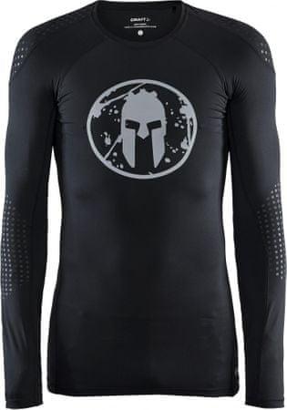Craft koszulka kompresyjna męska Spartan LS Compression Black XL
