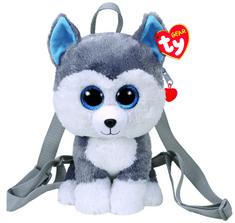 TY Gear backpack Slush - husky 25 cm