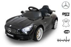Beneo Elektrické autíčko Mercedes-Benz GTR, 12V, 2,4 GHz dálkové ovládání, odpružení, otvíravé dveře