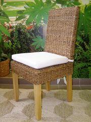 Jídelní židle Lenka-banánový list-borovice