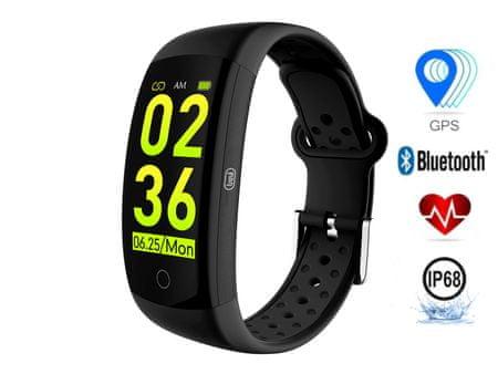 Trevi Activity Sport Wristband T-FIT 250 GPS športna zapestnica, črna