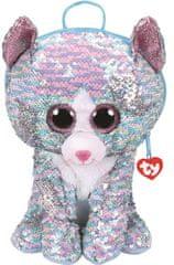 TY Fashion Sequins batůžek s otočnými flitry Whimsy - kočka