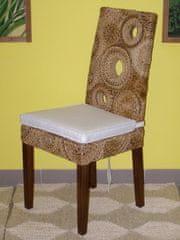 Ratanová jídelní židle Seattle-banánový list