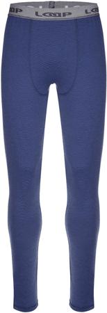 Loap Pette férfi thermo nadrág Kék csíkos M