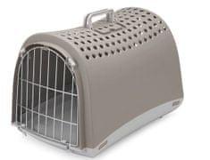 IMAC transporter dla psów i kotów plastikowy, 50 x 32 x 34,5 cm
