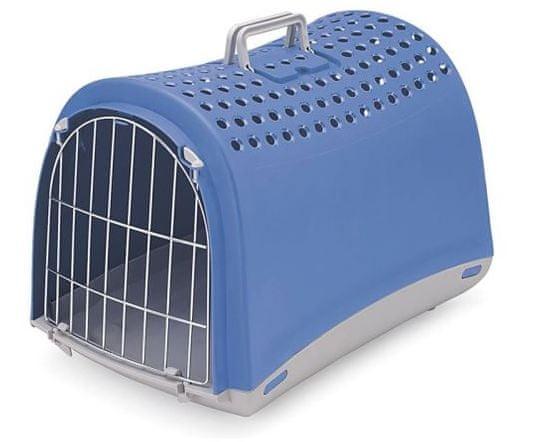 IMAC Prepravka pre psa a mačku plastová, modrá 50x32x34,5 cm
