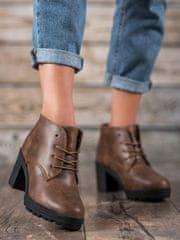 Dámske členkové topánky 58179