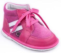 RAK Dievčenské kožené topánočky Táňa 0300-1