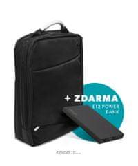 EPICO Batoh na notebook a tablet 16,8 l, černá 9916141300002