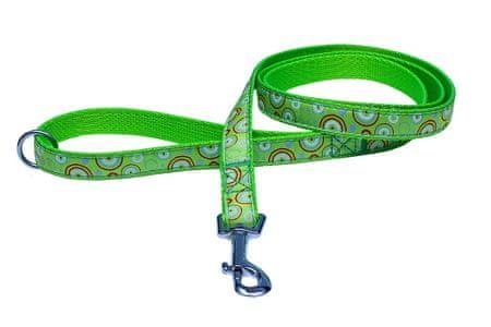 BAFPET pasja ovratnica, 1,5 m, zelena, št.3