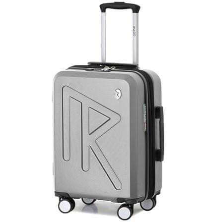 Raido Cestovní kufr Numero Uno Silver Mood Line S