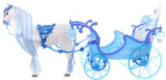 Lamps Kůň modrý s kočárem