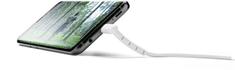 CellularLine USB datový kabel Vista s konektorem USB-C, 120 cm, bílý, USBDATASTANTYC1MW