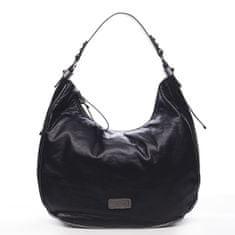 Pierre Cardin Pohodlná módní dámská kabelka Angele Pierre Cardin černá