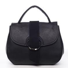 Maria C. Kombinovaná dámská taška do ruky Eugenie černá