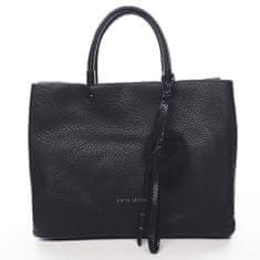 Pierre Cardin Nepřehlédnutelná módní dámská kabelka Agnes Pierre Cardin černá