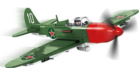 Cobi Model SMALL ARMY II WW P-39 Aircobra White 10