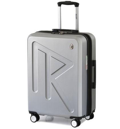 Raido Cestovní kufr Numero Uno Silver Mood Line L