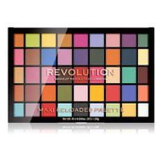 Makeup Revolution Ponovno naloženo Maxi 45 senčilo za oči ( Maxi Reloaded Palette Monster Mattes) 60,75 g