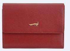 Marta Ponti ženska denarnica, usnjena, rdeča