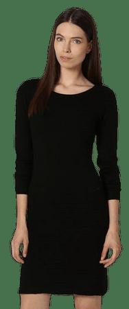 William de Faye dámske šaty WF317 S čierna
