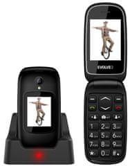 Evolveo EasyPhone FD, čierny