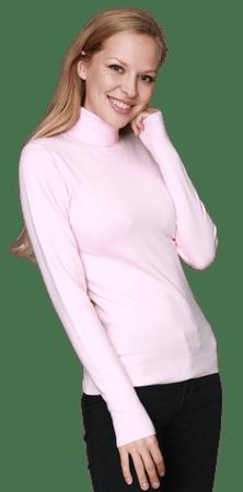 William de Faye női garbó WF313_1 S világos rózsaszín