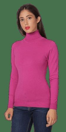 William de Faye ženski pulover WF313_1, M, roza