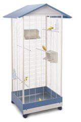 IMAC kavez za kanarince, papige i egzotične ptice s dnom na izvlačenje i kotačima, 84,5x72,5x165,5 cm