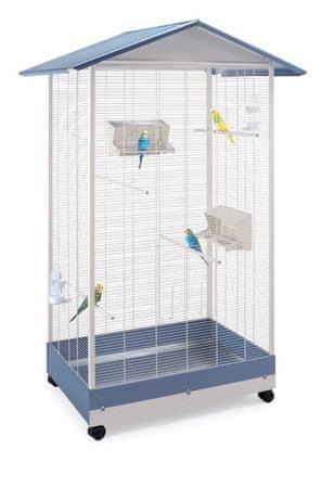 IMAC kletka za kanarčke, budgegere in eksotične ptice z izvlečnim dnom in kolesi, 100,5x72,5x167,5 cm