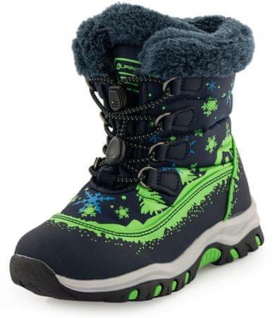 ALPINE PRO zimske cipele za dječake ETELO, 29, crne