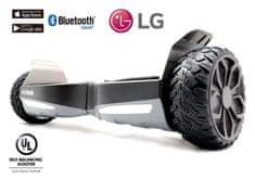 "Hooboard Hooboard GO! - Terénny Smart Hoverboard, UL certifikát, LG batéria, 6,5"" kolesá, čierny"
