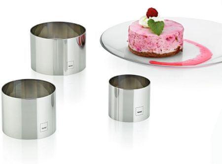 Kela Decore 10780 modelčki za oblikovanje sladic, 3 kosi