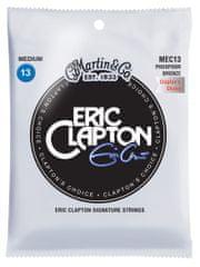 Martin Eric Clapton 92/8 Phosphor Bronze Medium Kovové struny pro akustickou kytaru