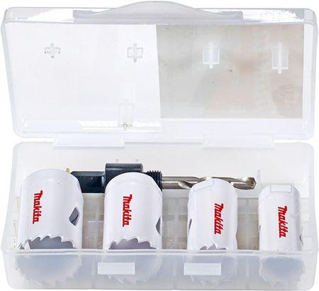 Makita set HSS-BIM kronskih žag z adapterjem in centrirnim svedrom, D-33641-14