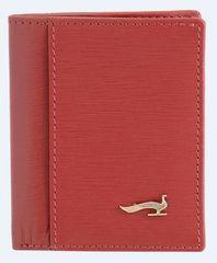 Marta Ponti ženska denarnica za kartice Sahara, usnjena, rdeča