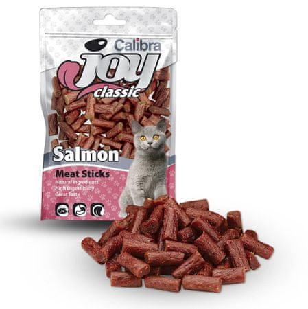 Calibra slastice za mačke, losos štapići 70 g