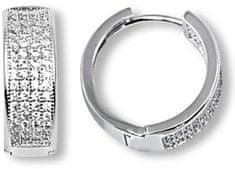 Brilio Silver Luxusní stříbrné náušnice 436 158 00081 04 stříbro 925/1000